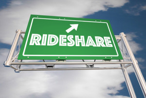 68584788 - ride share freeway sign carpool commuters 3d illustration